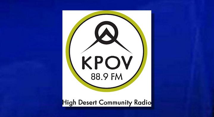 KPOV radio logo