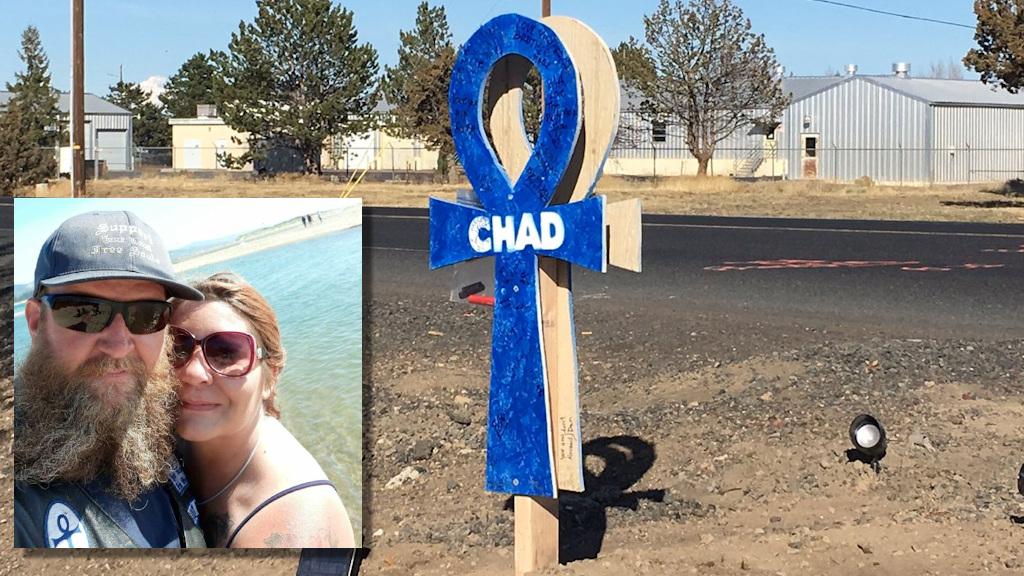 Chad and Santia Welsh, memorial