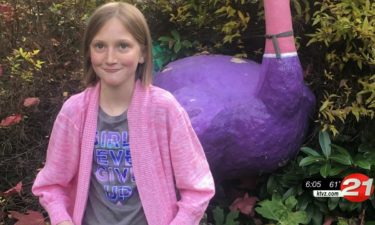 Heart transplant recipient Peyton Bartz