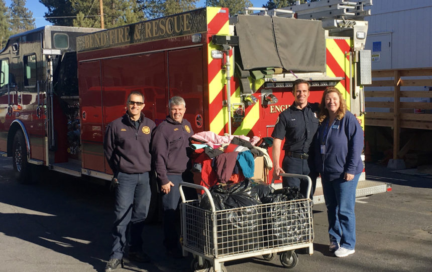 Bend Fire and Rescue warm clothing drive