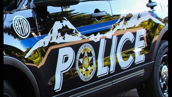 Bend police car