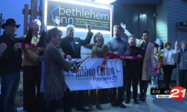 Bethlehem Inn ribbon cutting