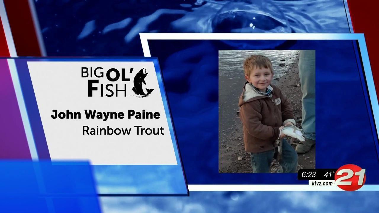 Big Ol' Fish John Wayne Paine