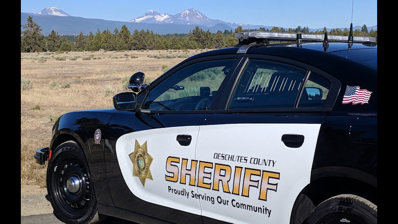 Deschutes County sheriff's patrol car