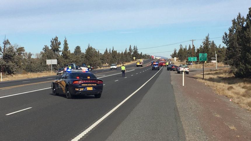 Highway 97 - 61st Street crash