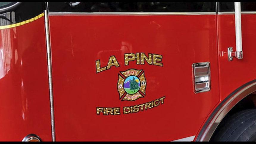 La Pine Rural Fire District truck