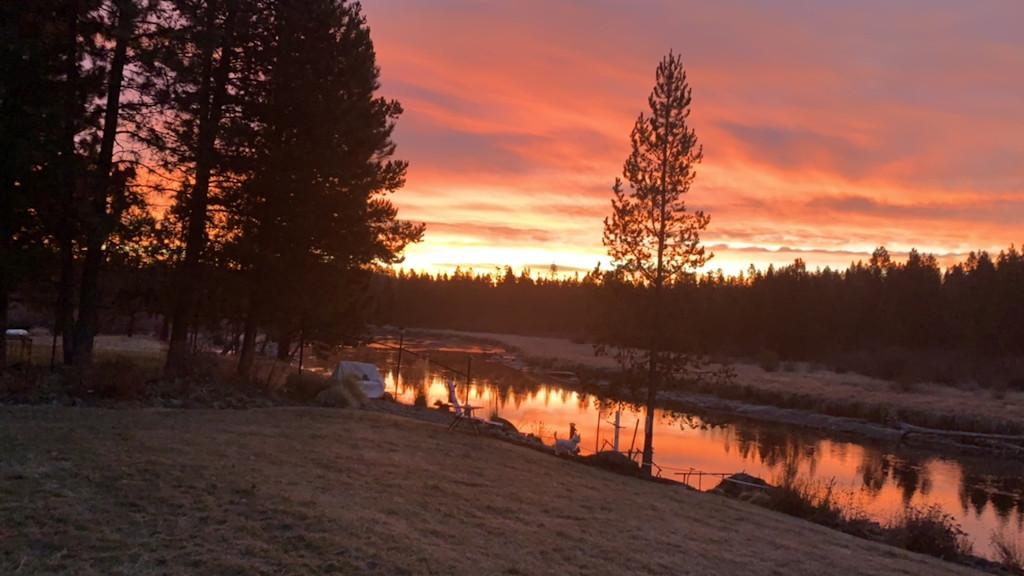 La Pine State Park sunrise Bonny Bowens