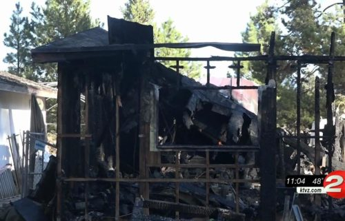 La Pine family hit hard by fire