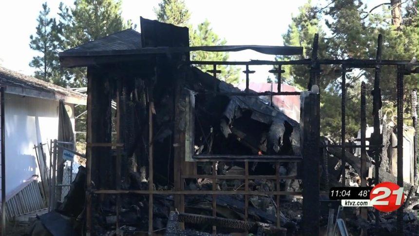 La Pine family hit hard by fire