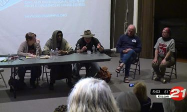 Panel forum on homelessness