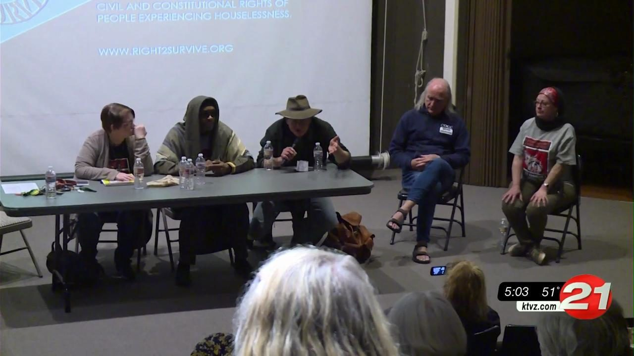 Panel forum on homelessness