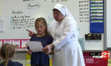 Pay it Forward St. Francis 2nd grader