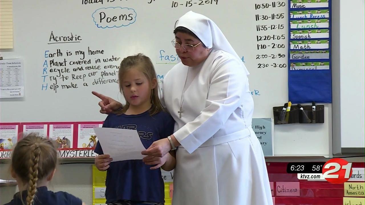 Pay it Forward St. Francis 2nd grader