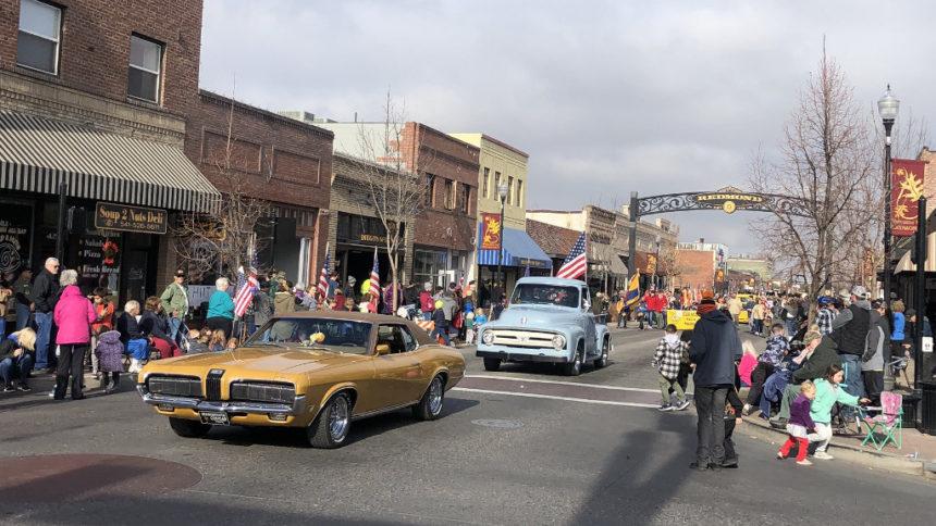 Redmond Veterans Day Parade Jessie Foster