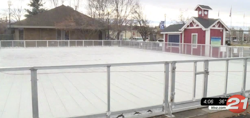 Redmond ice rink preps for opening