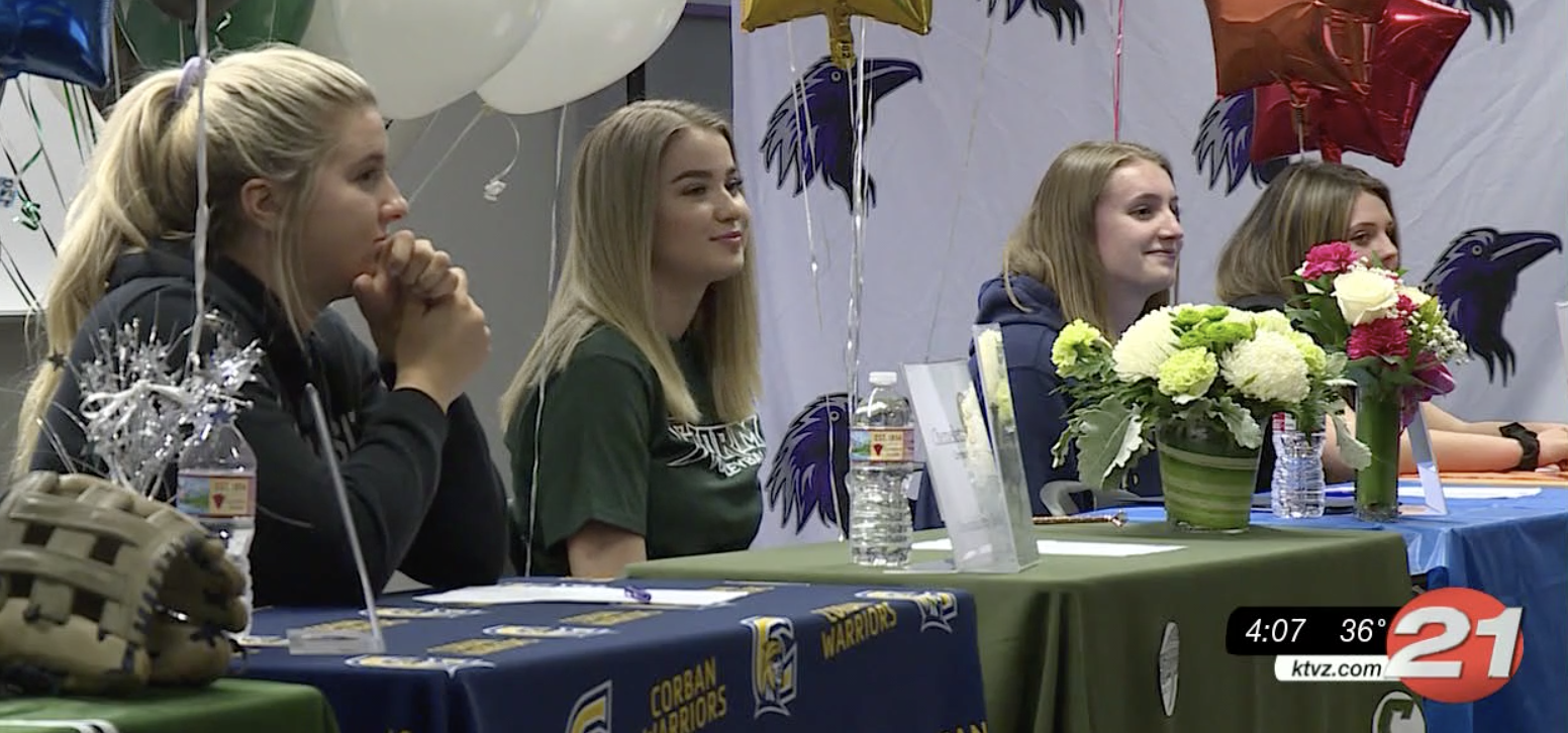 Ridgeview HS signing day