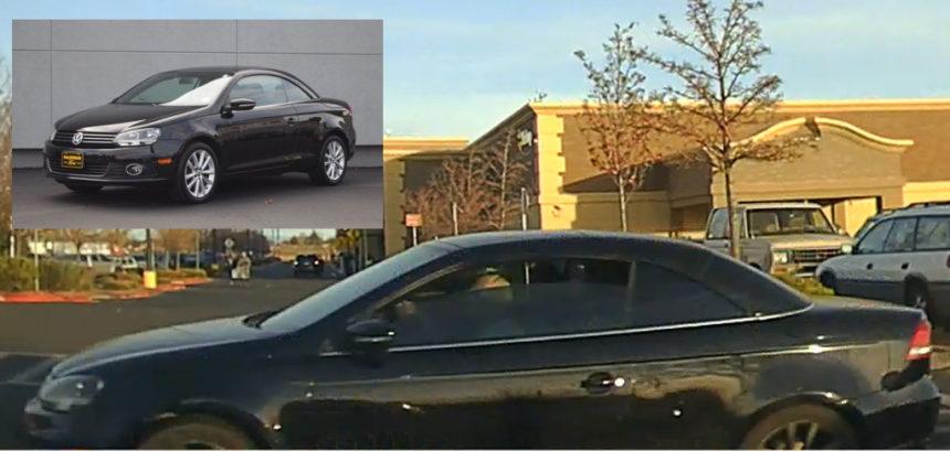 Stolen car Redmond Walmart