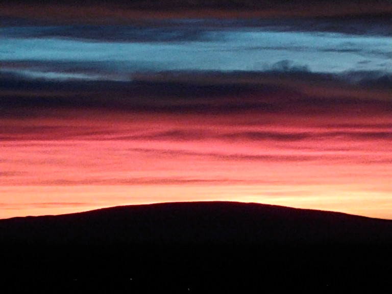 Sunrise view from Pilot Butte Cheryl Loomis