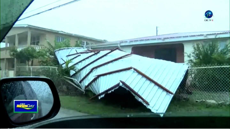 <i>CBC Barbados</i><br/>Elsa strengthens into a hurricane